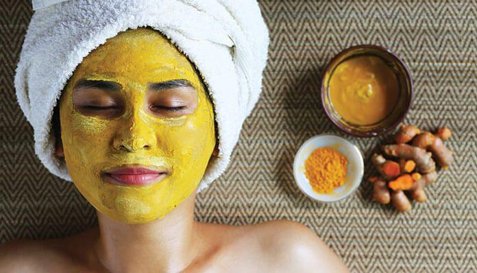 ماسک زردچوبه برای پوست