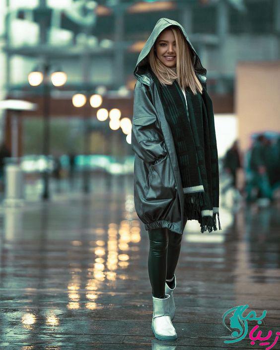 مدل بارانی دخترانه شیک و قشنگ