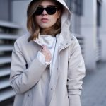 مدل بارانی دخترانه با کلاه
