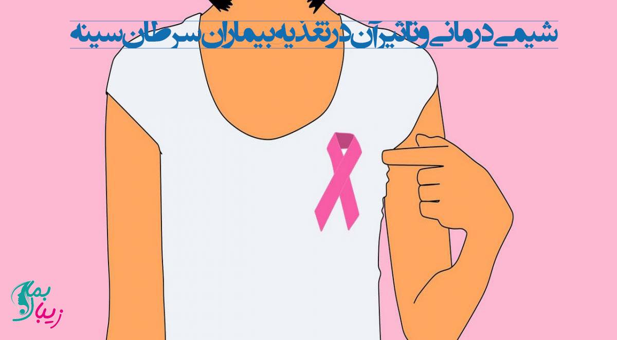 تاثیر شیمی درمانی در تغذیه بیماران سرطان سینه