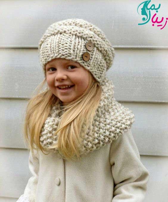 شال و کلاه بچگانه دختر