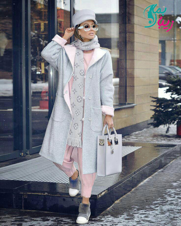 تیپ زمستانی دخترانه ایرانی - زیبا بمان