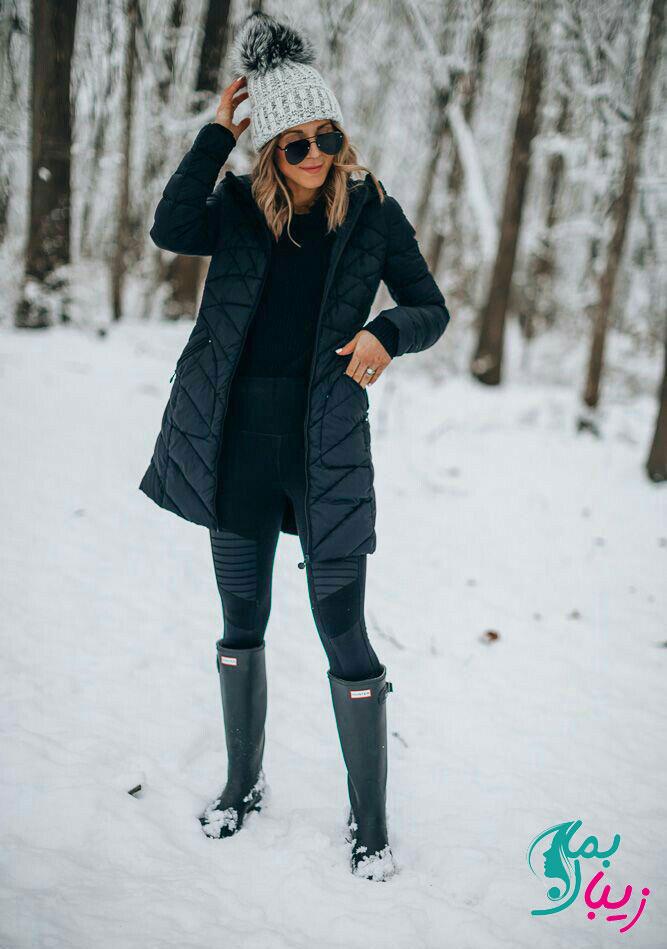 تیپ زمستانی دخترانه