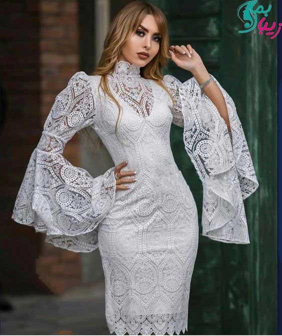 مدل لباس مجلسی پوشیده نامزدی