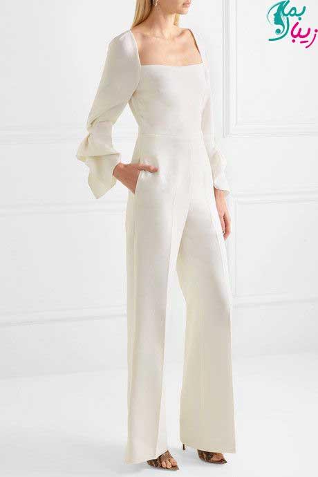 مدل سرهمی پوشیده سفید