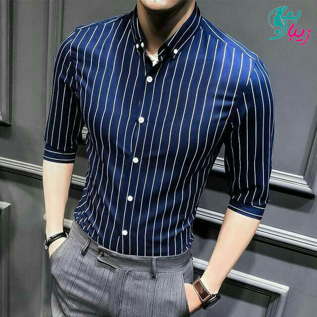10 مدل از بهترین پیراهن شیک آبی کلاسیک
