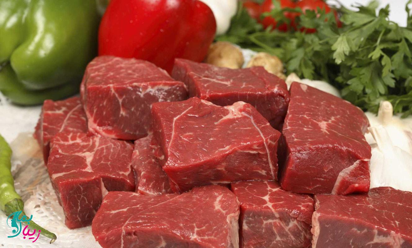 گوشت قرمز افزایش دهنده فشار خون