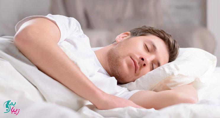 نحوه خوابیدن بعد از کاشت ابرو