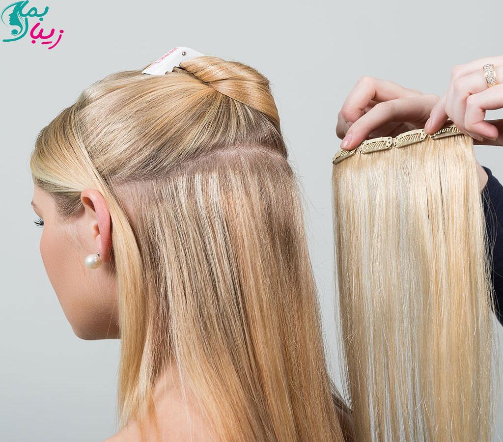 اکستنشن مو چیست؟ | انواع، ماندگاری، معایب و مزایا