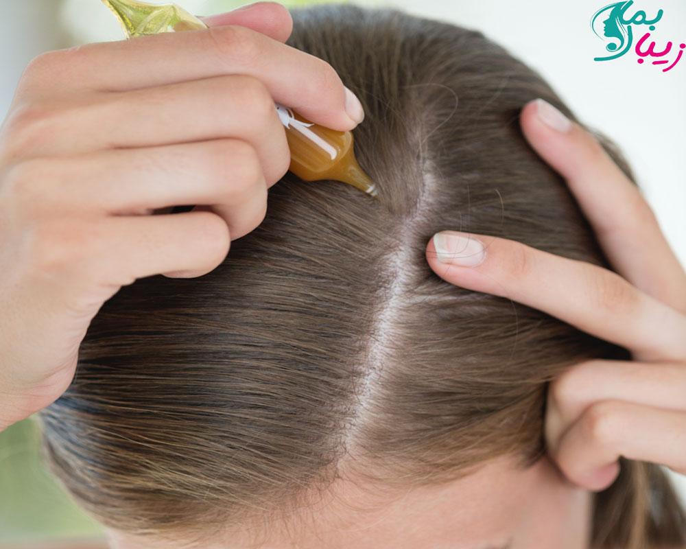 روغن کرچک برای مو
