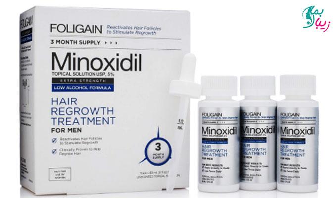 ماینوکسیدیل و طریقه مصرف آن برای مو