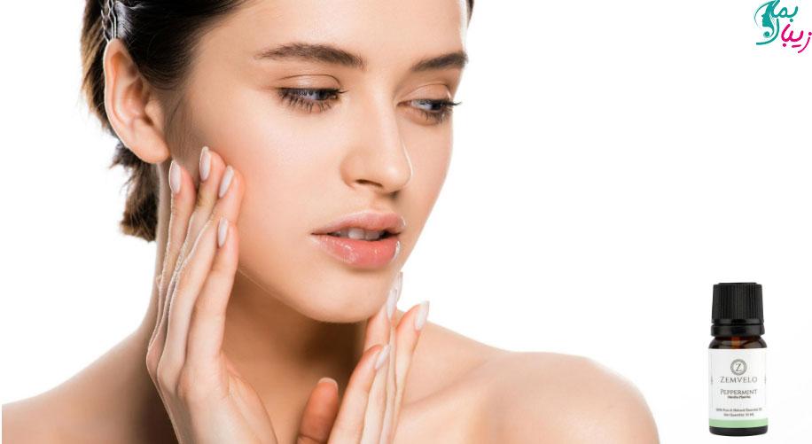 ماسک روغن نعناع برای پوست | جوانسازی و درمان آکنه