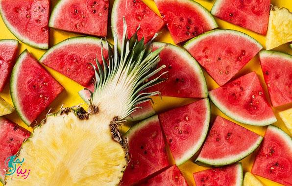 میوه و سبزیجات مناسب گرمازدگی
