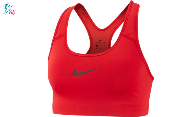 پوشیدن سینه بند ورزشی