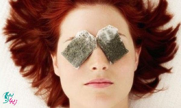 آیا چای کیسه ای برای پف چشم و سلامت چشم سودمند است ؟