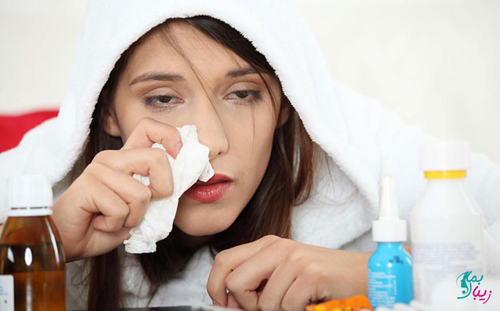 درمان سرماخوردگی تابستان
