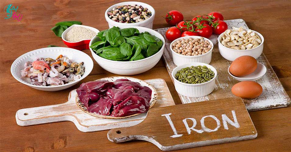 کدام غذاها جذب آهن را افزایش می دهند؟