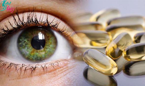 کدام ویتامین ها برای خشکی چشم مفید هستند