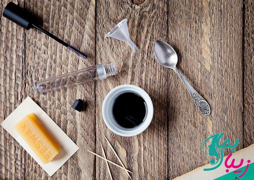 طرز تهیه ریمل تقویت کننده و پرپشت کننده مژه خانگی