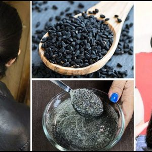 ماسک روغن سیاه دانه برای مو | رویش مجدد موها و رفع سفیدی