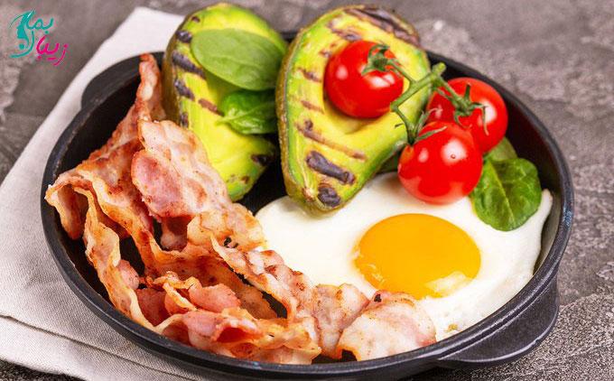 صبحانه رژیمی برای کبد چرب