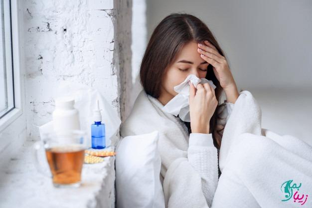 درمان سرماخوردگی در پاییز