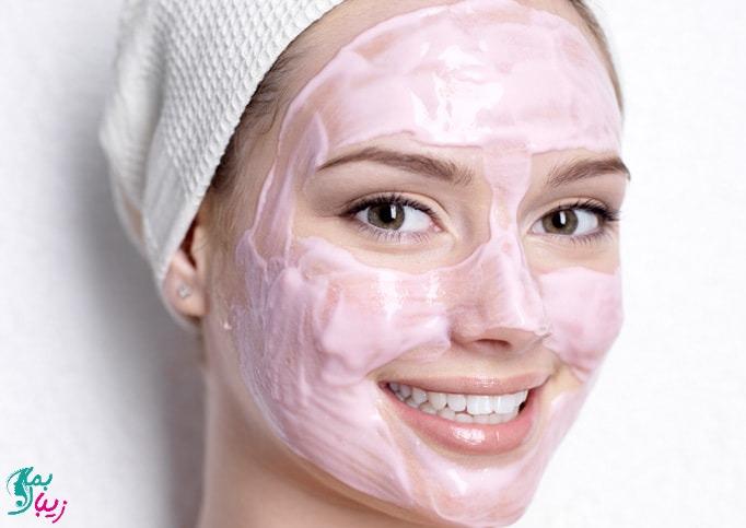 ماسک خانگی برای چاقی صورت