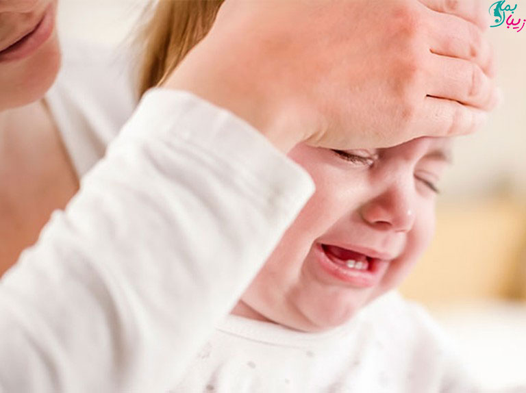 تب دندان درآوردن کودک