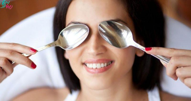 درمان های خانگی برای کاهش پف چشم