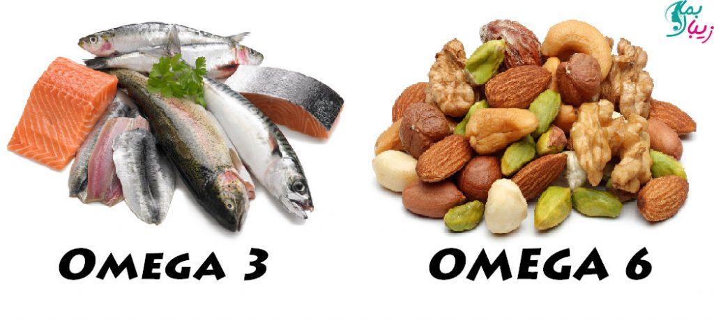 منابع غذایی اسیدهای چرب امگا 6