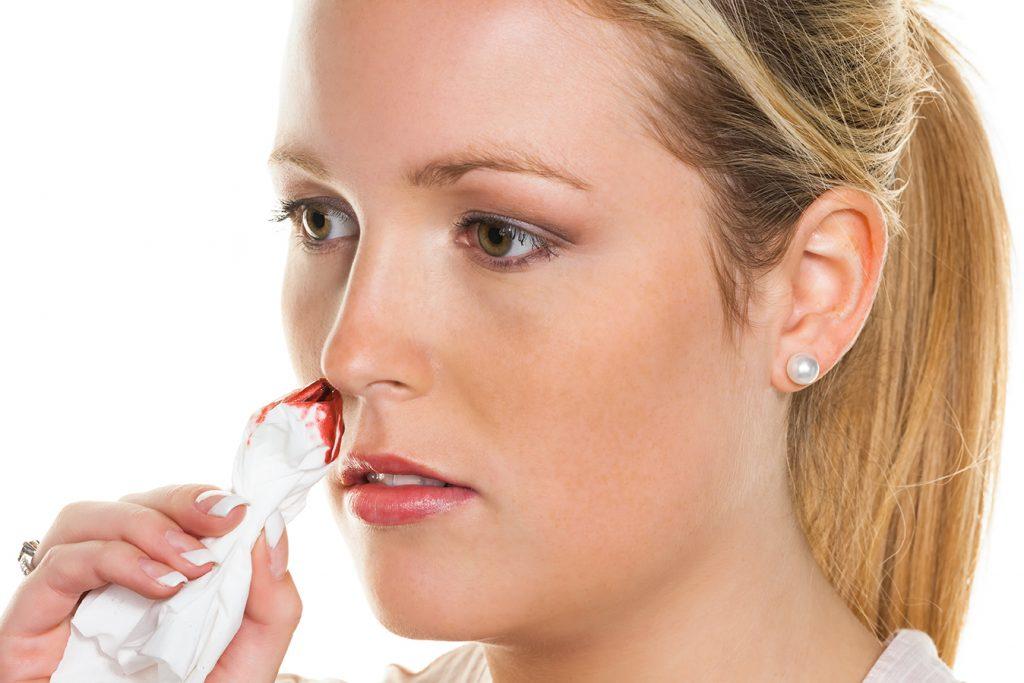 زخم داخل بینی