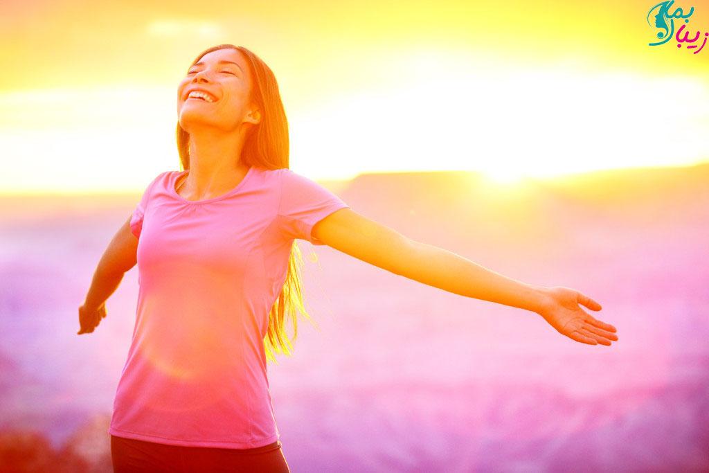 فواید نور خورشید برای سلامتی