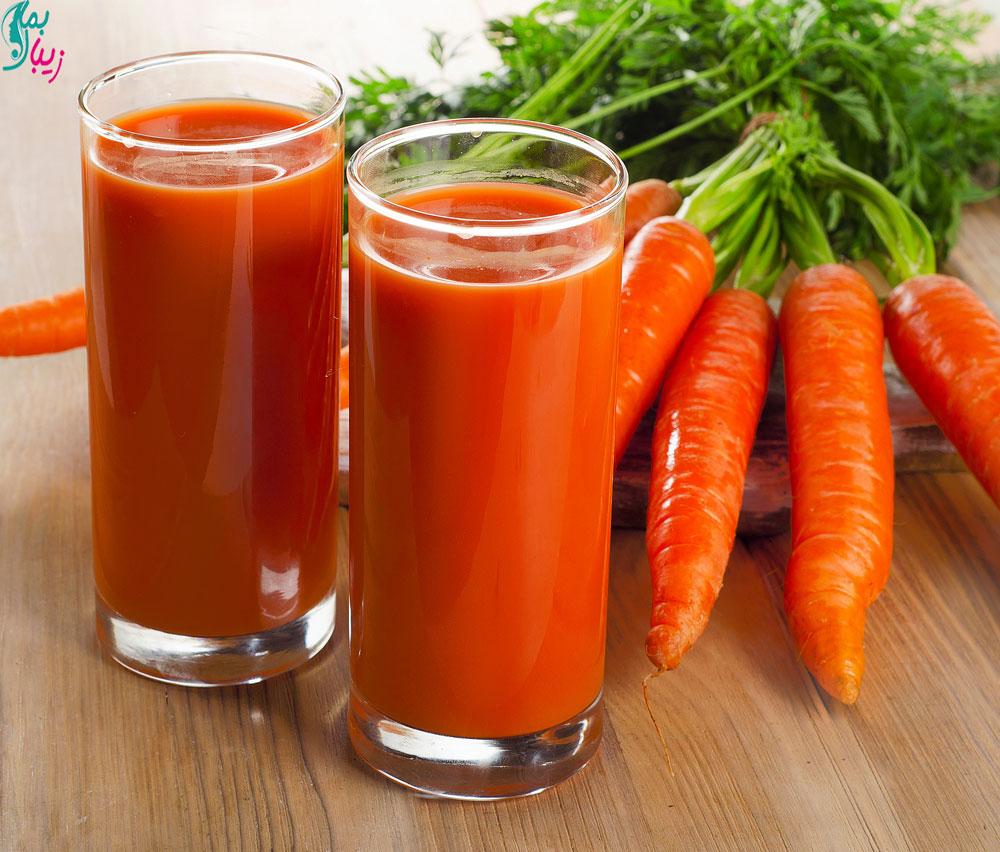 هویج مواد غذایی دارای کراتین