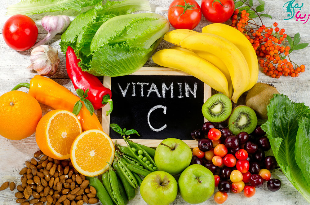 ویتامین C برای گودی زیر چشم