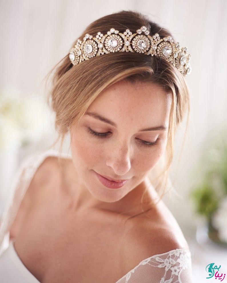 مدل تاج خاص برای عروسی