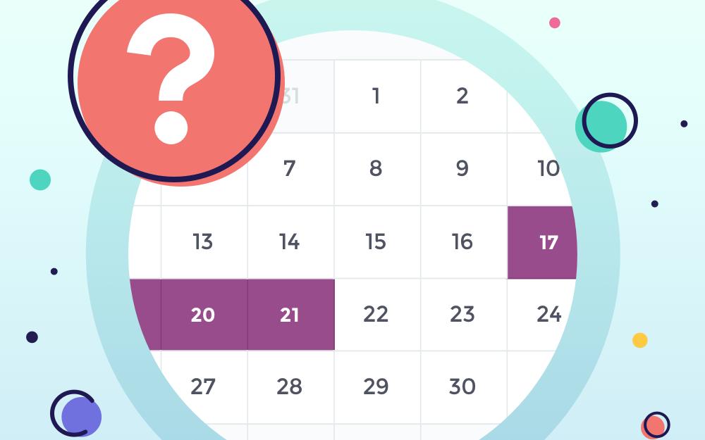 زمان بارداری در چرخه قاعدگی