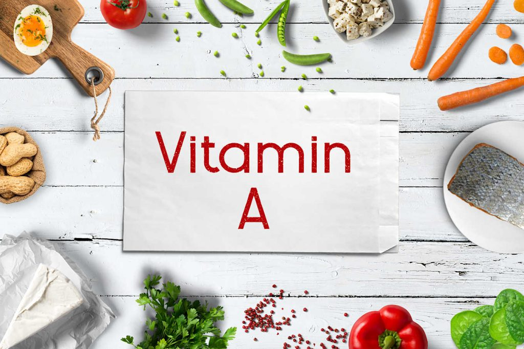 اشکال ویتامین A