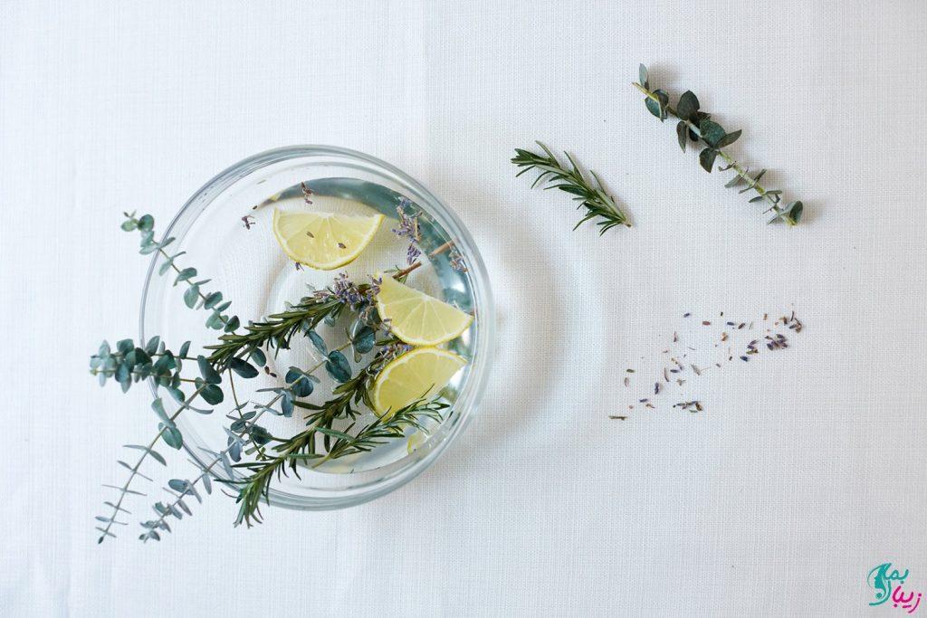 درمان سینوزیت با بخور گیاهی