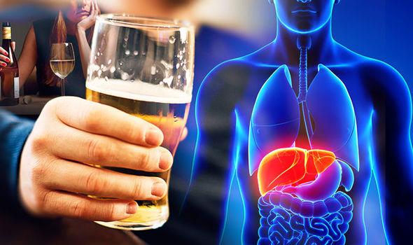 تاثیر مصرف الکل بر کبد
