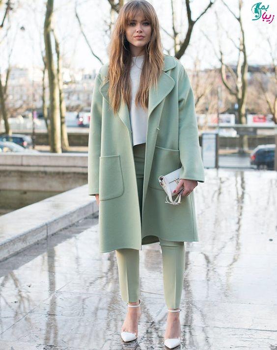 رنگ سبز پاستلی