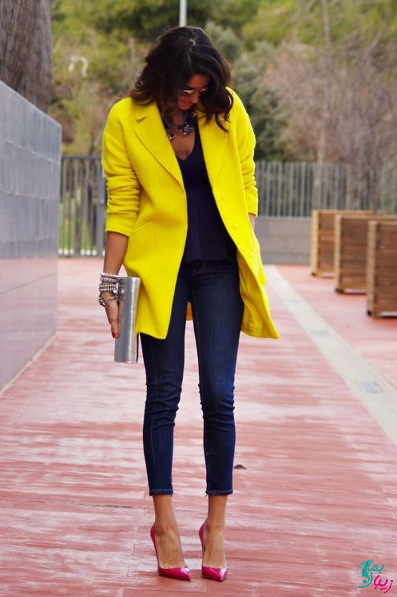 زرد روشن رنگ بهار 1400