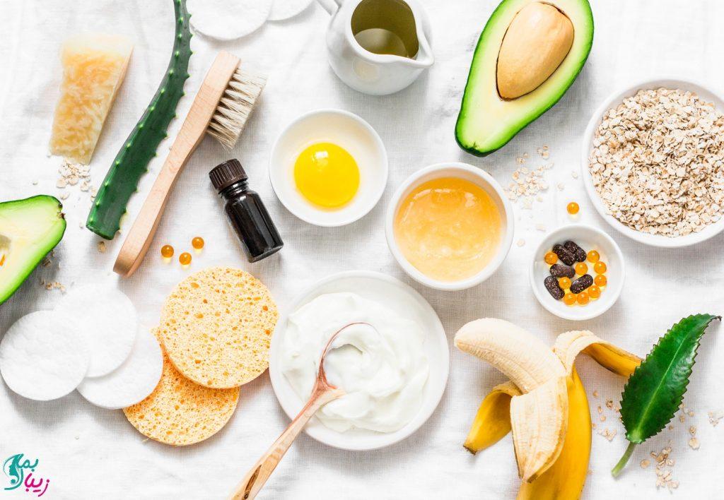 ماسک مو برای پروتئین تراپی در خانه