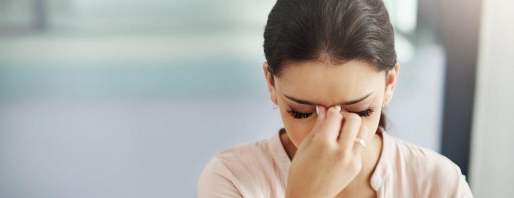 سر درد ناشی از فشار خون پایین