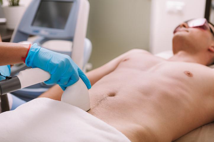 مراقبت های لیزر زیر بغل و بیکینی