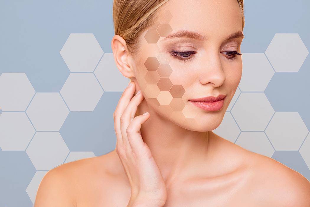 فواید پپتید برای پوست