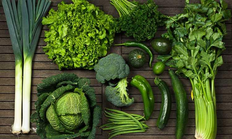 سبزیجات با آهن بالا