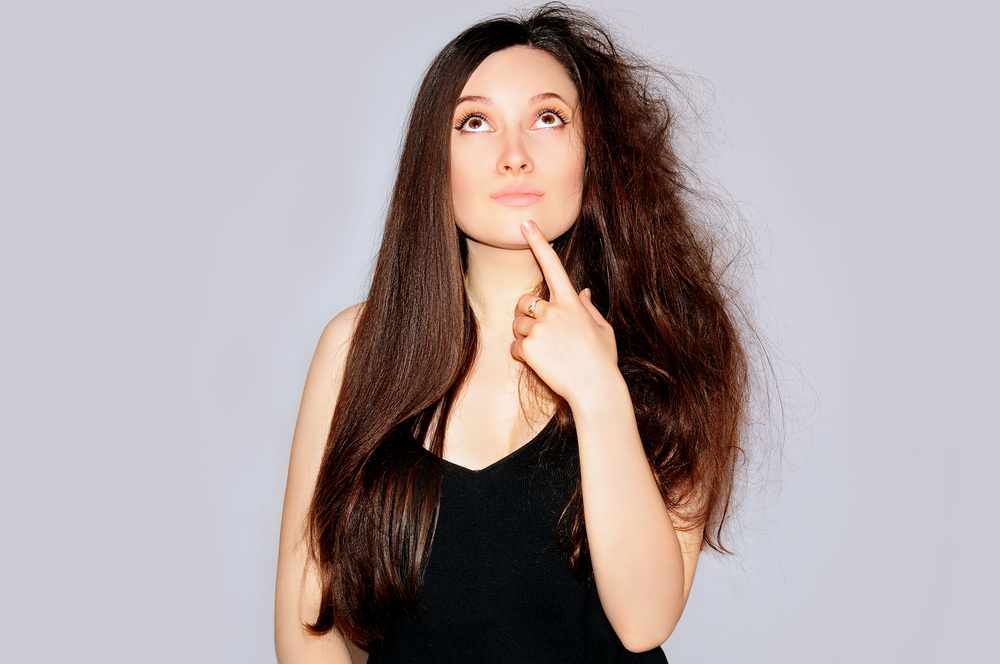 درمان خانگی برای موهای خشک و وز