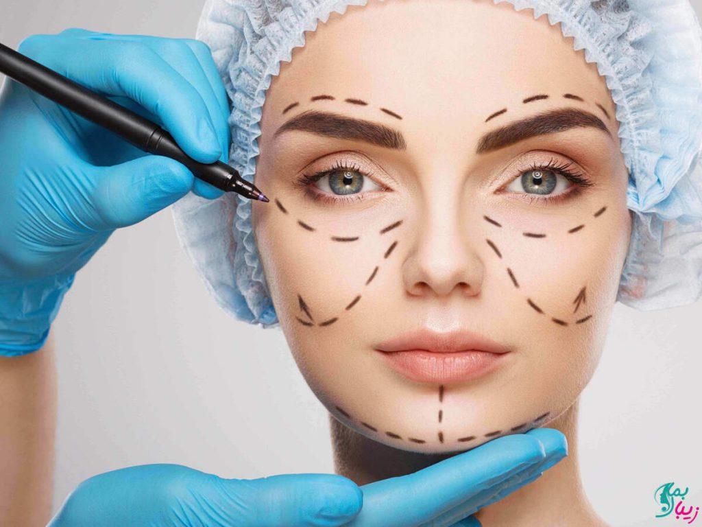 جراحی قرینه کردن صورت