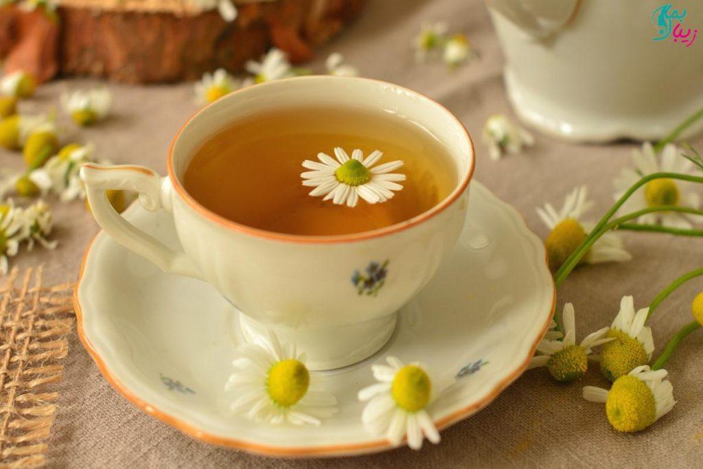 چای بابونه برای چی خوبه